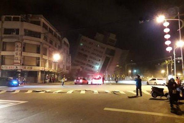 台湾花莲县附近海域发生6.5级地震 已致2死114余伤