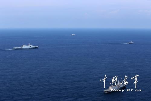 新媒:今年年底中国将与东盟举行海上联合军演