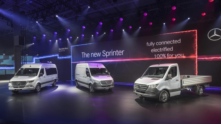 2019款梅赛德斯-奔驰短途商用货车欧洲亮相