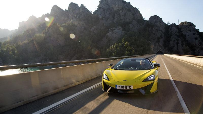 迈凯伦致力研发混合动力汽车及自动驾驶系统