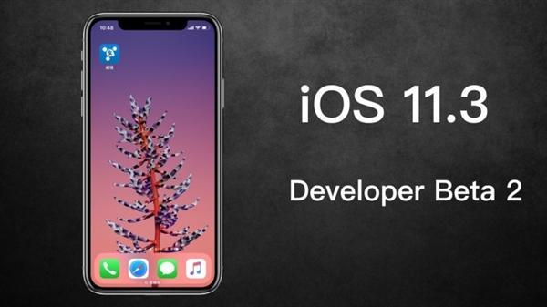 苹果发布iOS 11.3新测试版:可以手动降频了