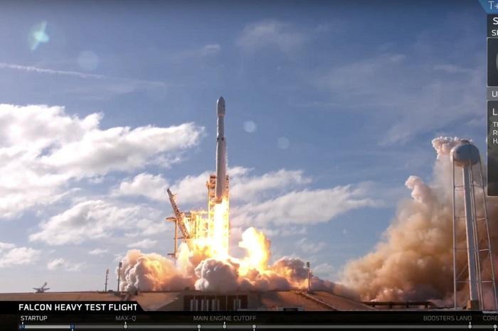 猎鹰火箭中级回收失败 三台引擎只重新发动一台