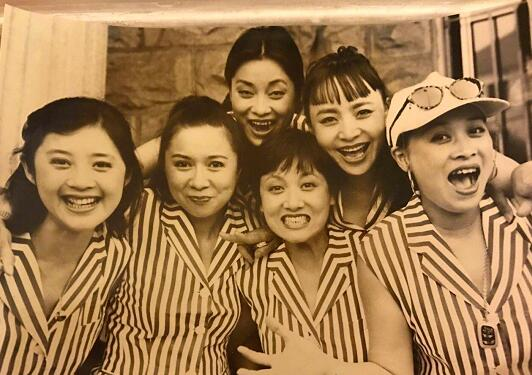 回忆杀!那英晒20年前合影 蔡明毛阿敏邓婕宋丹丹少女感十足