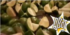 男子年会吃117个柠檬 拿到5千奖金舌头吃到起泡