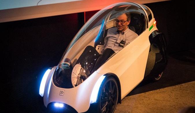 电动踏板汽车Podbike原型展示 零售版明年上线