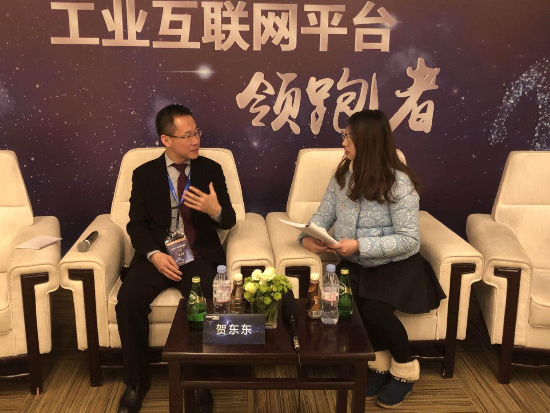 树根互联CEO贺东东:跨行业赋能 做工业互联网纽带