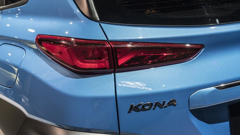 现代推出首款纯电动SUV Kona EV 续航比肩特斯拉