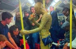 地铁就是奇葩聚集处