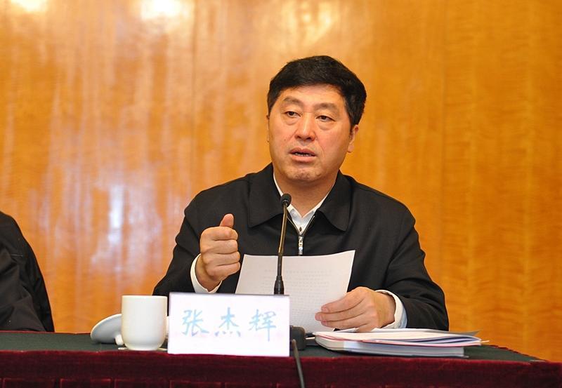 河北人大常委会原副主任张杰辉被双开:为提副省级搞拉票