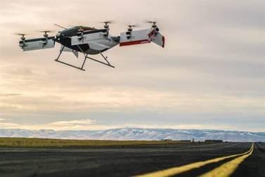 空客推1人座载人无人机 将成单座空中出租车