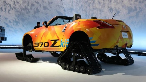 雪地精灵 日产370Zki概念车型正式发布