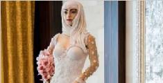英设计师打造惊艳蛋糕新娘