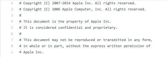 iPhone源码究竟是如何泄露的?一起来了解下