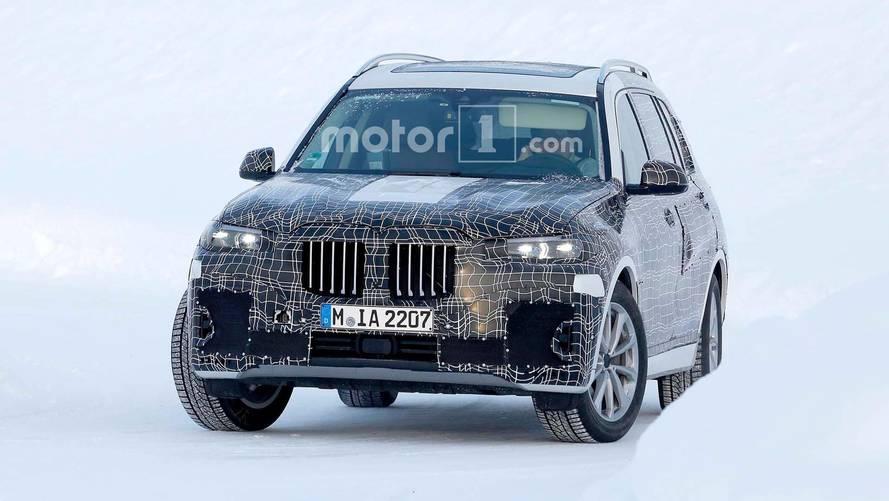 宝马X7 SUV瑞典冬季测试谍照曝光 有望年底正式发布