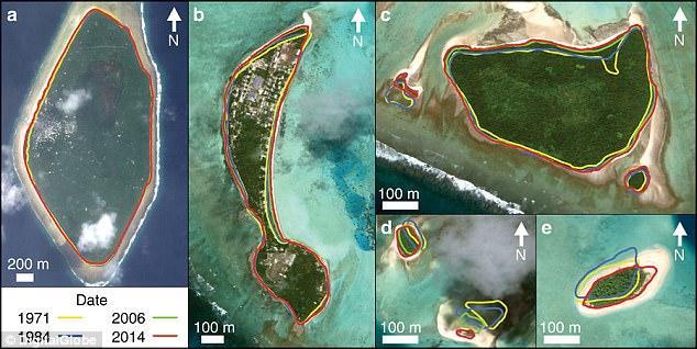 """研究:将""""沉没""""的太平洋国家图瓦卢竟然在变大"""