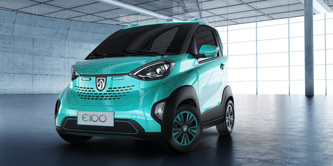 中国支持电动车市场:宝骏电动车3.58万元起售