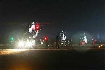 要的就是这气势:陆航直升机群零度夜间训练