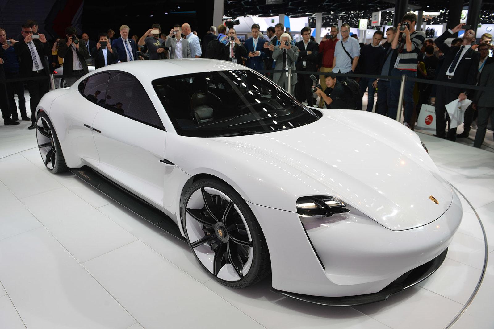 保时捷和奥迪将共享新能源汽车研发平台