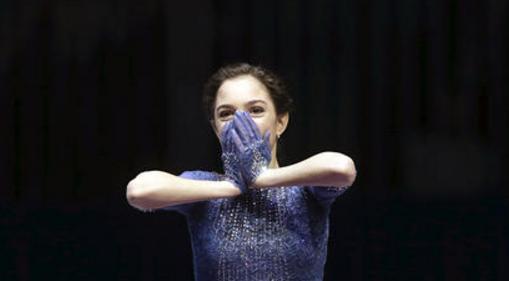 超严肃!花滑女王梅娃确认参加团体赛 高冷拒采访
