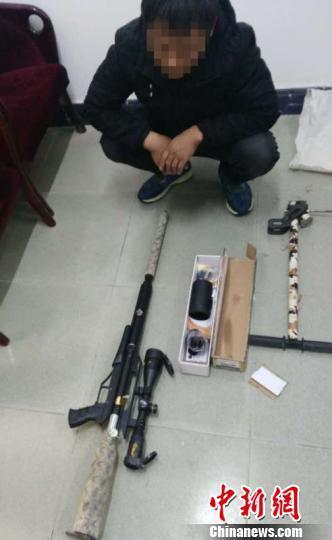 网络线上赌博:河南济源警方打掉一网络贩枪案_抓获嫌疑人56人