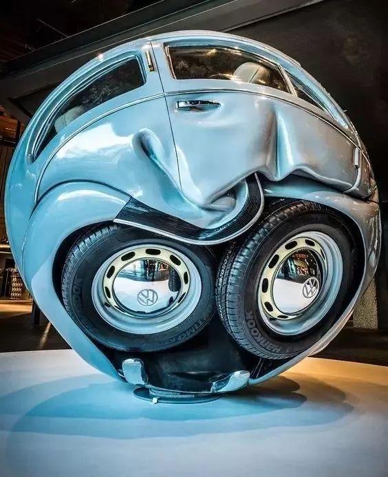 大众甲壳虫球体-Beetle Sphere》系列-春运车票难买 艺术车票赶紧抢高清图片