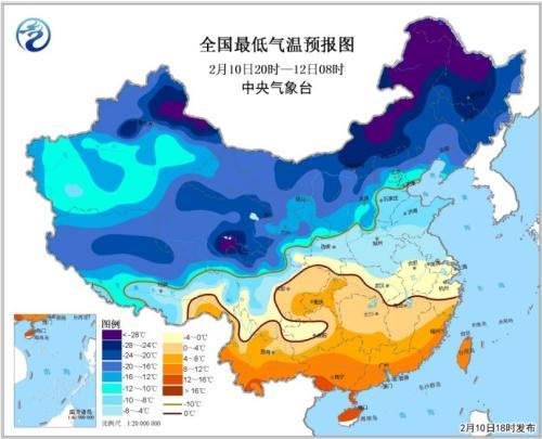 寒潮蓝色预警解除 北方大部地区今明两天将开始升温