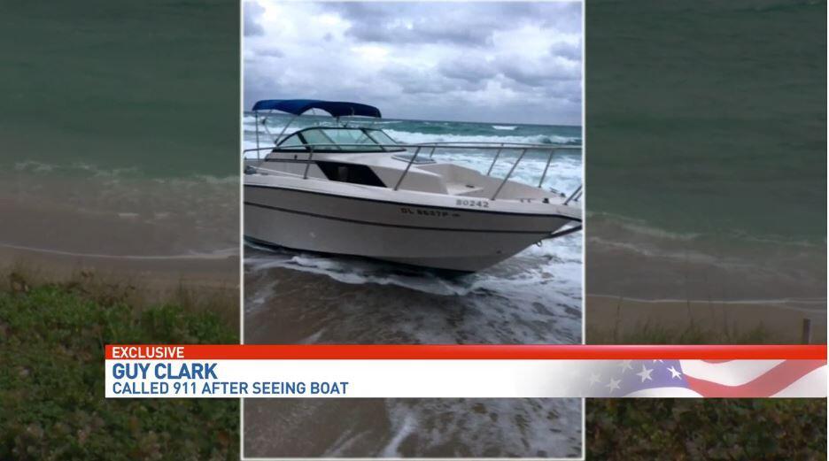 美媒:偷渡船被冲上美国海滩 11名中国偷渡客被捕