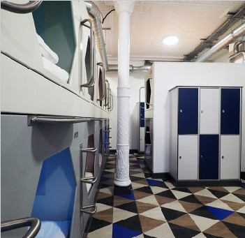 英国首家胶囊酒店入驻伦敦 每晚费用218元