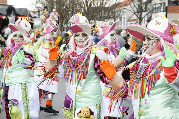 阿尔斯特狂欢节盛大游行