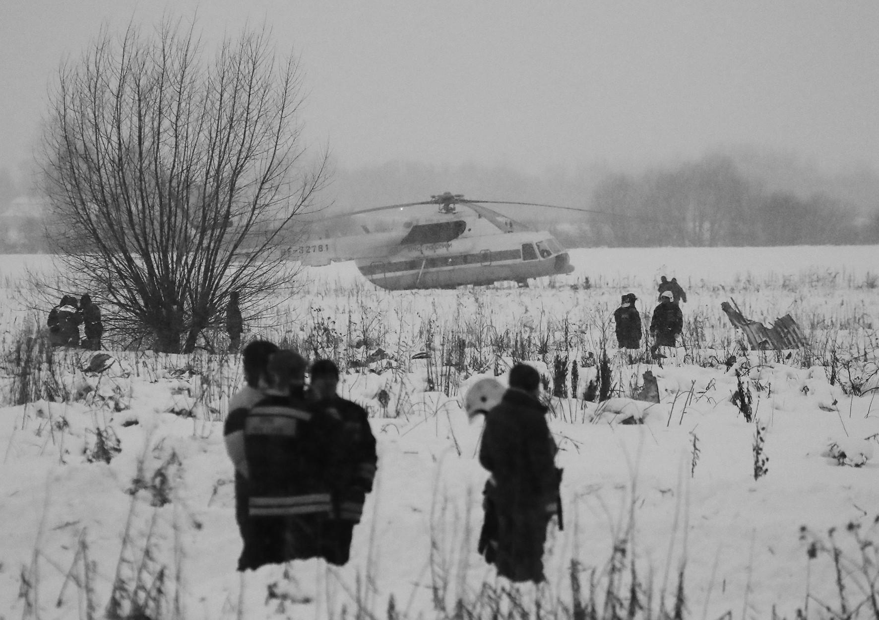 俄安148客机坠毁71人恐罹难 或曾与直升机相撞