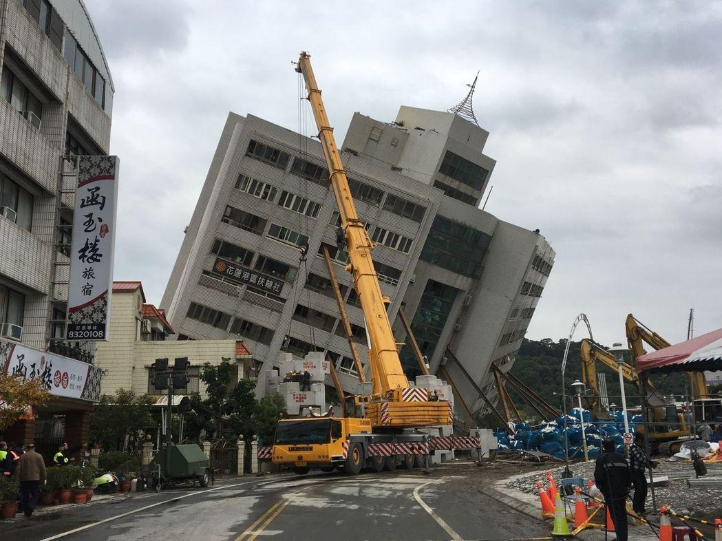 花莲县长:地震灾区重建预估需20亿台币 目前到位补助款仅4亿