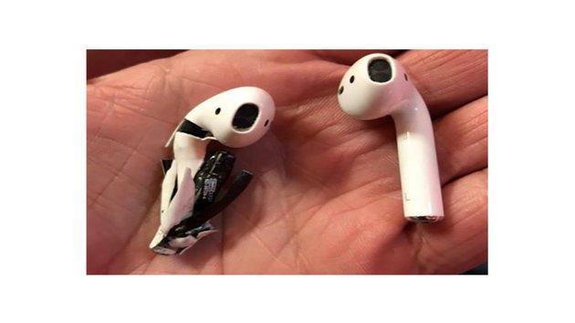 又生事端:苹果AirPods电池疑似起火爆炸