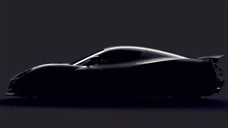 克罗地亚超级跑车惊艳世人 黑科技新车型曝光