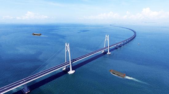 """珠海开建世界最大""""无人船海上测试场"""""""