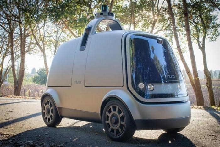 从物出发 载货不载人的自动驾驶配送车上路了?