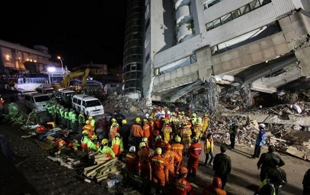 台湾花莲地震搜救告终 遇难17人中9人为大陆游客