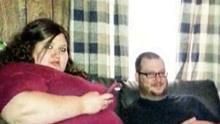 夫妻携手减重400磅 秒变帅哥美女