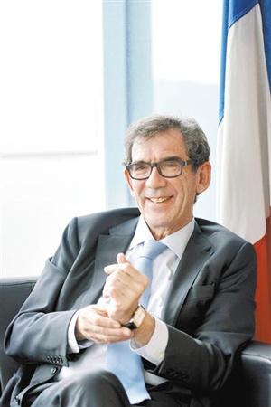法国驻华大使黎想。图/广州日报全媒体记者 莫伟浓
