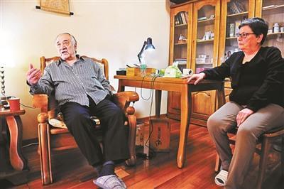 中国侨网菲拉斯和他的妻子瓦法