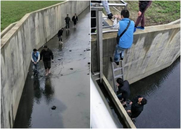 台情侣因涉毒被通缉 为逃避刑责而躲下水道半个月