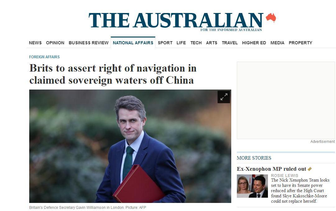特雷莎·梅刚走 英国军舰要来南海向中国示威?!