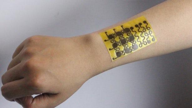 新型电子皮肤可在切割时愈合并完全回收利用