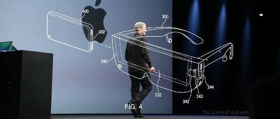 苹果曝新专利:一种体积小巧的AR智能眼镜