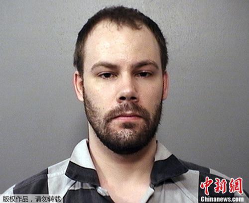 资料图:涉嫌绑架中国访问学者章莹颖的美国嫌犯克里斯滕森。