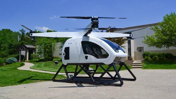 看看目前正在研发的八款不同电动飞行出租车