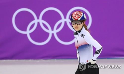 韩国名将短道女子500米决赛因犯规被取消成绩