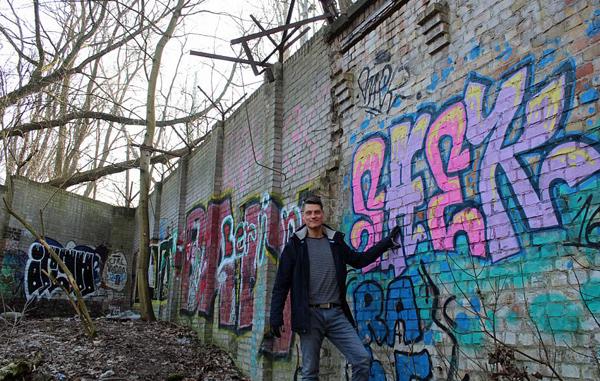 德国男子发现未拆除残余柏林墙 上报地方议会