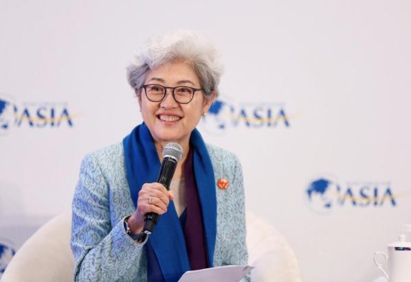 傅莹今年将再出席慕尼黑安全会议,去年曾驳斥对鸿运国际娱乐网站军费质疑