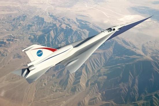 NASA全资打造静音超音速飞机 未来或用于商业飞行