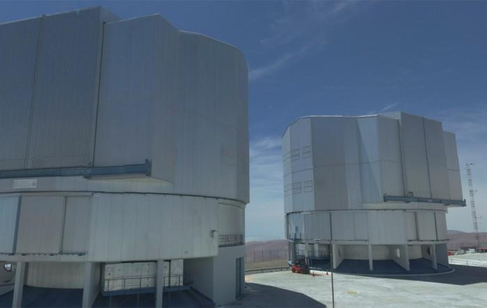 ESO甚大望远镜借助ESPRESSO工具成单独巨型望远镜
